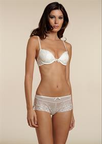 Alice Panikian in lingerie