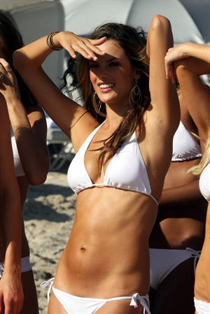 Alessandra Ambrosio photoshoot for Victoria's Secret