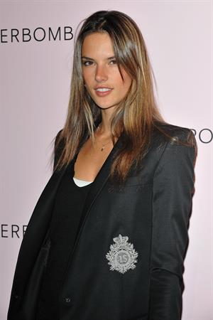 Alessandra Ambrosio 5th anniversary of Flowerbomb Perfume in Paris on March 5, 2010