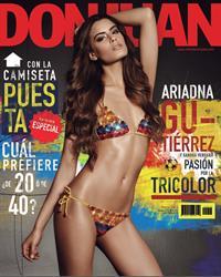Ariadna Gutiérrez in a bikini