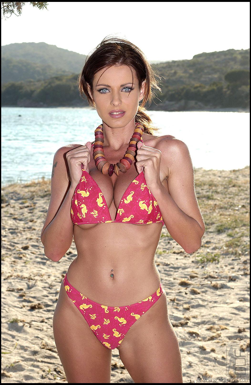 Tereza Dvorakova in a bikini