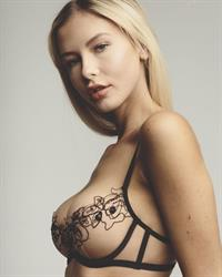 Adrianna Christina in lingerie