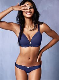 Chanel Iman in lingerie