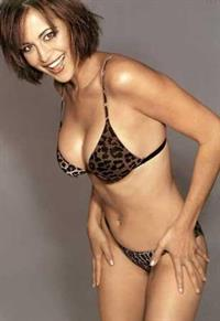 Catherine Bell in a bikini
