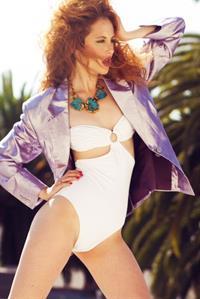 Faith Picozzi in a bikini