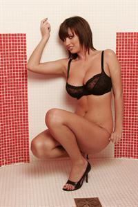 Sophie Howard in lingerie