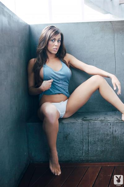 Christina Ripple in lingerie