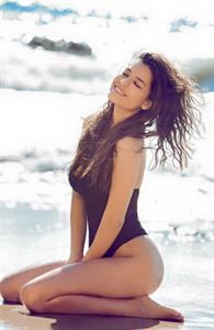 Alice Peneaca in a bikini