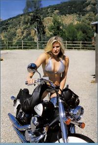 Katee Sackhoff in a bikini