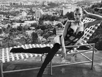 Charlotte McKinney in lingerie