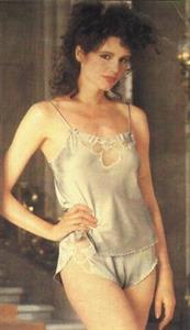 Geena Davis in lingerie