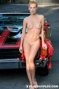 Playboy Cybergirl - Kristy Garett - auto enthusiast