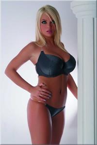 Ines Cudna in lingerie