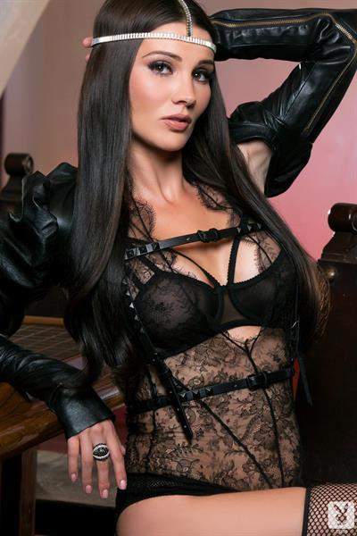 Erika Knight in lingerie