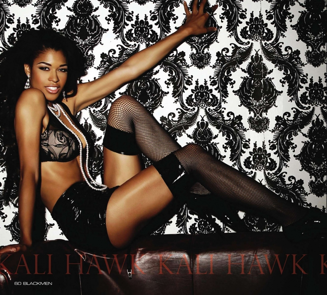 Kali Hawk in lingerie