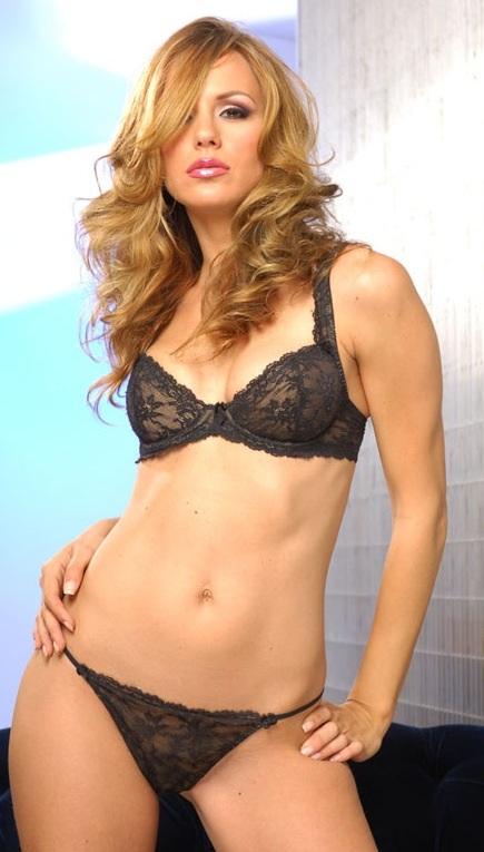 Crystal Klein in lingerie