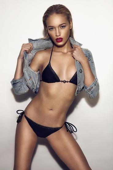 Roxy Horner in a bikini
