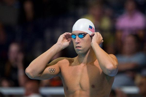 American Olympic Swimmer Matt Grevers