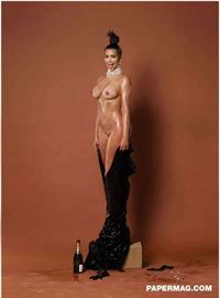 Kim Kardashian - breasts