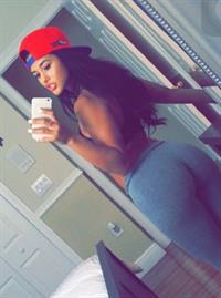 Katya Elise Henry taking a selfie and - ass