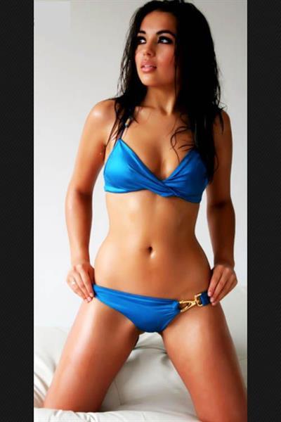Katya Sanchez in a bikini