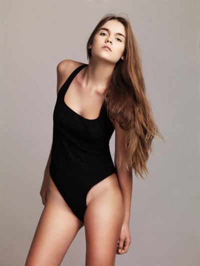 Katya Uvarova in a bikini