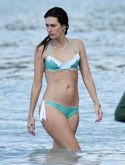 Rhea Durham in a bikini