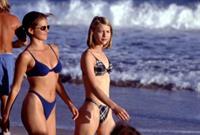 Laurie Fortier in a bikini