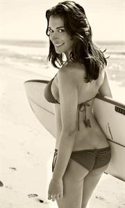 Kelly Brannigan in a bikini - ass