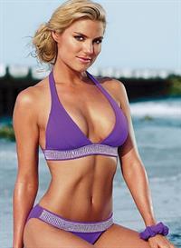 Rachel Reynolds in a bikini