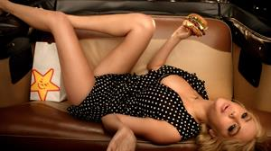 Kate Upton in a Carl's Jr Commercial
