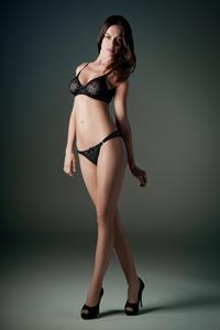 Patricia Beck in lingerie
