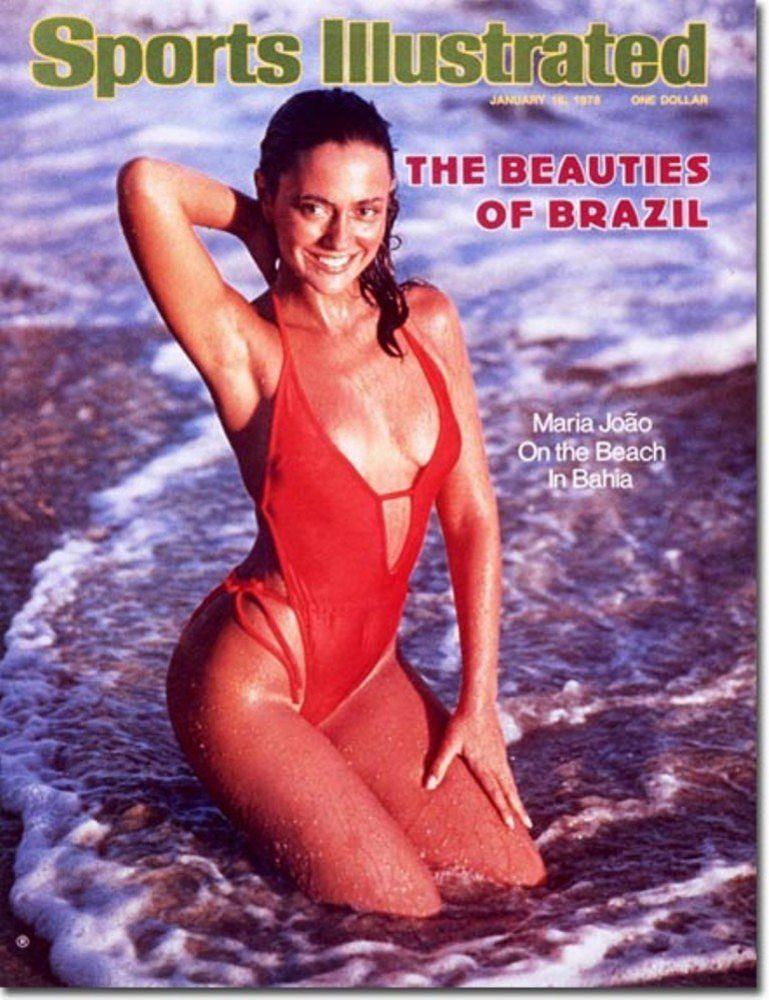 Maria Joao in a bikini