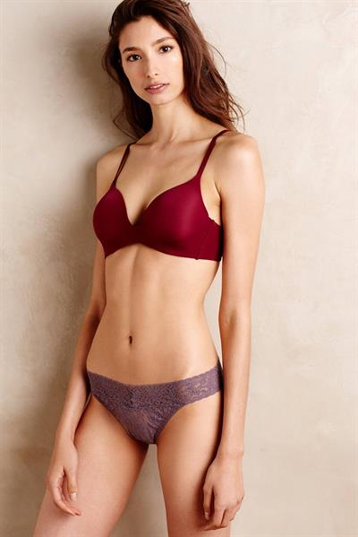 Alexandra Agoston O'Connor in lingerie