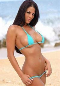 Christine Marie Cabanos in a bikini