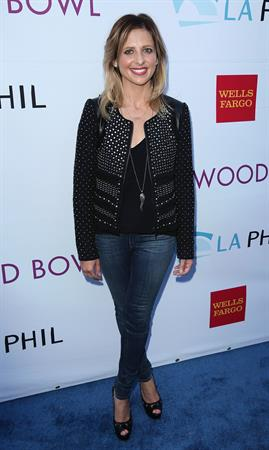 Sarah Michelle Gellar - Hollywood Bowl Opening Night and Hall of Fame Inductions