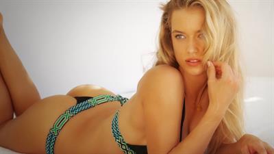 Hannah Ferguson in a bikini - ass