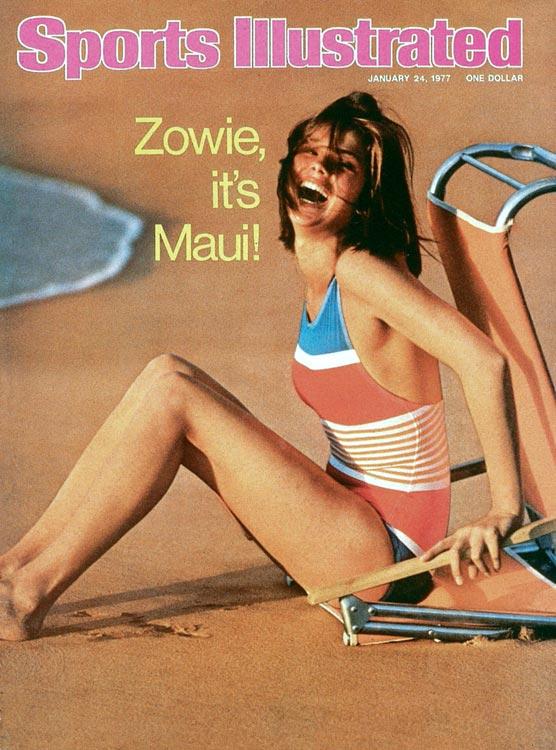 Barbara Minty in a bikini