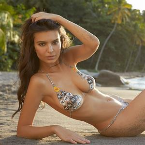 Emily Ratajkowski Sports Illustrated 2014 - Body Paint