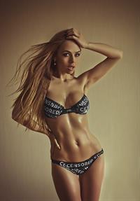 Anastasia Plyaskina in a bikini