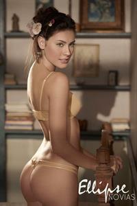 Juliana Mueller in lingerie - ass