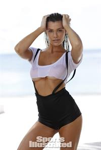 Samantha Hoopes in a bikini