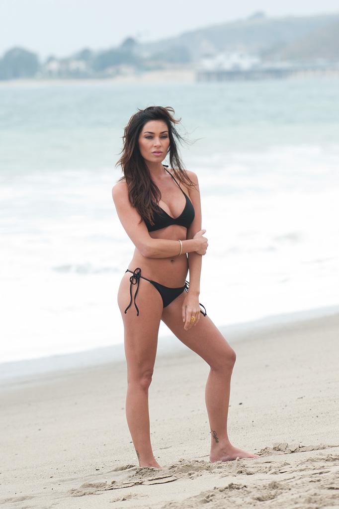 Jasmine Waltz in a bikini