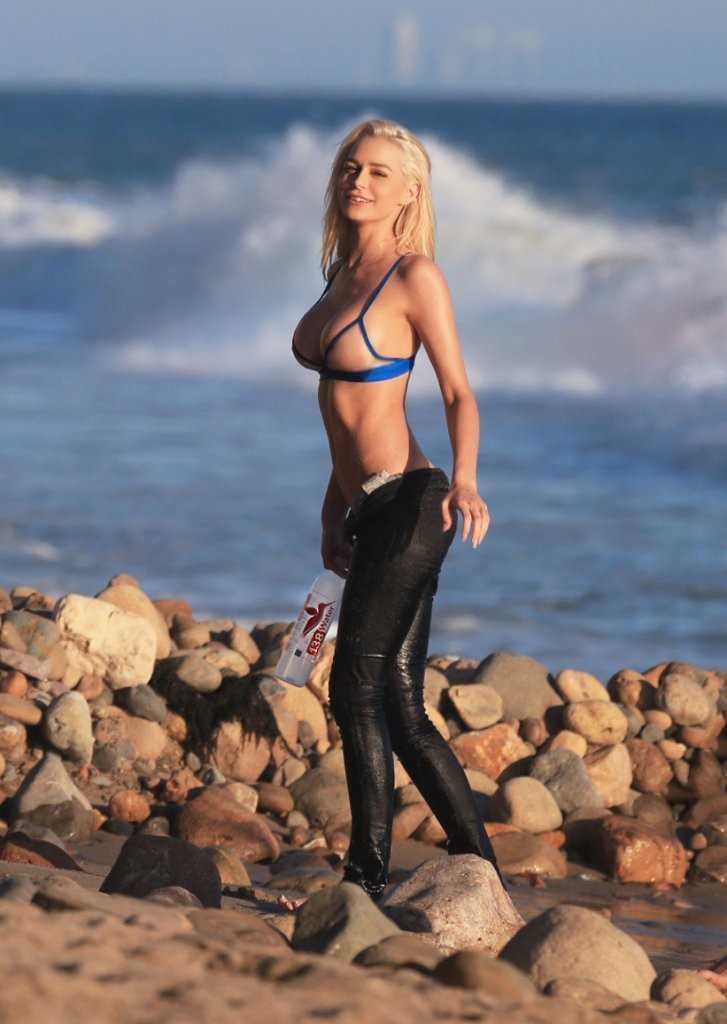Kate Compton in a bikini