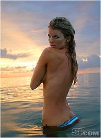 Marisa Miller in a bikini - ass