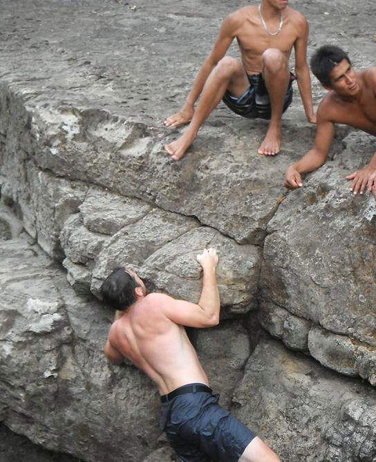 Rock Climbing in Panama!