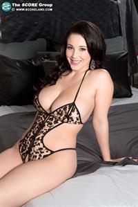 Noelle Easton in a bikini