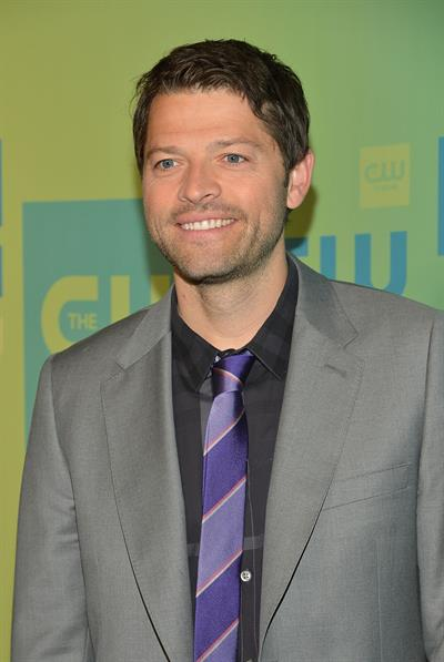 Misha Collins at The CW Networks New York 2014 Upfront Presentation May 15, 2014