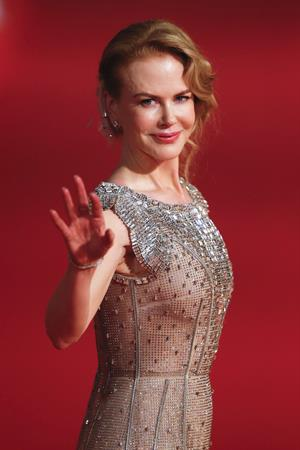 Nicole Kidman attends 17th Shanghai International Film Festival June 14, 2014 in Shanghai, China