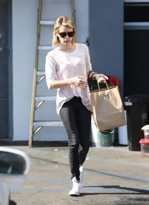 Emma Roberts out in Beverly Hills June 9, 2014
